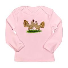 Buff Sebrights Long Sleeve Infant T-Shirt