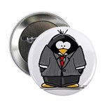 Executive penguin Button