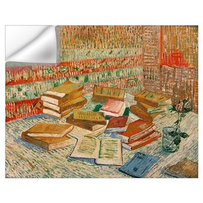The Yellow Books, 1887 (oil on canvas) Wall Decal