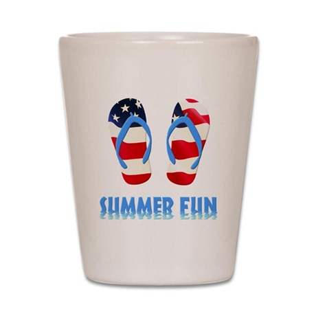 Summer Fun Shot Glass