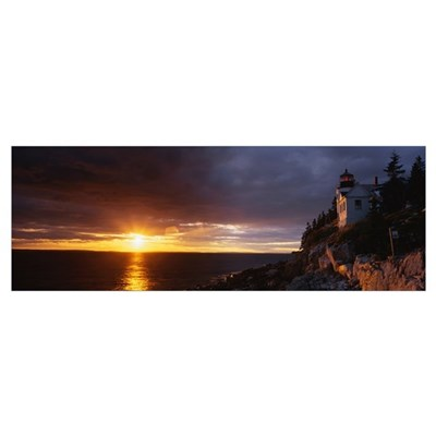 Bass Harbor ME Poster