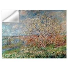 Spring, 1880 82 (oil on canvas) Wall Decal