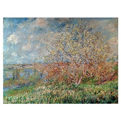 Spring, 1880 82 (oil on canvas) Poster