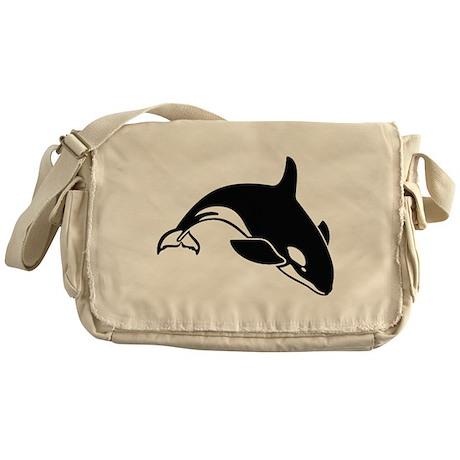 Killer Whale Messenger Bag