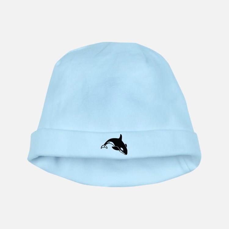 Killer Whale baby hat