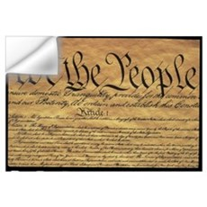 The Preamble to the United States Constitution Wall Decal