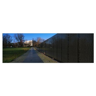 Vietnam Veterans Memorial Washington DC Poster