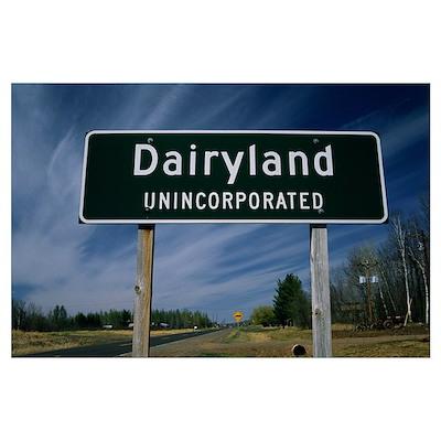 Dairyland WI Poster