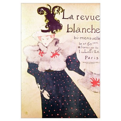Poster advertising La Revue Blanche, 1895 (litho) Poster