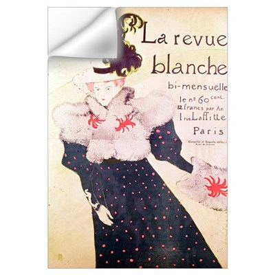 Poster advertising La Revue Blanche, 1895 (litho) Wall Decal