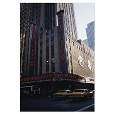 Radio City Music Hall New York NY Framed Print