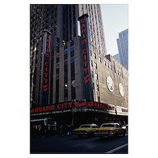 Radio City Music Hall New York NY Poster