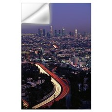 Hollywood Freeway Los Angeles CA Wall Decal