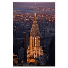 Chrysler Building New York NY Poster
