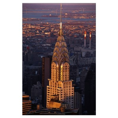 Chrysler Building New York NY Poster