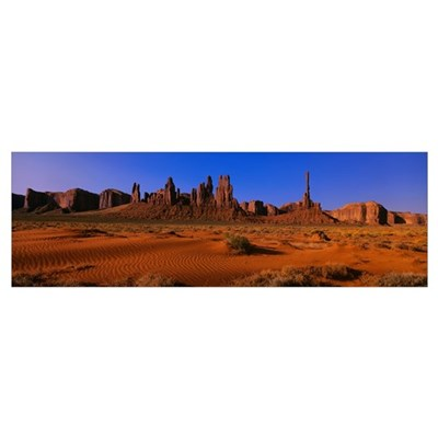 Monument Valley National Park AZ Framed Print