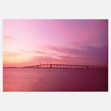 Maryland, Chesapeake Bay Bridge, dawn