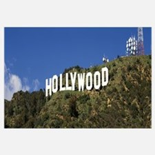 California, Los Angeles, Hollywood Sign at Hollywo