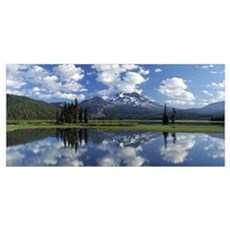 Sparks Lake OR Poster