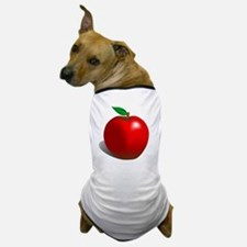 Red Apple Fruit Dog T-Shirt