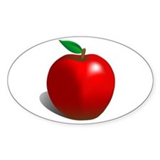 Red Apple Fruit Decal
