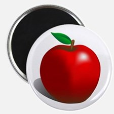 Red Apple Fruit Magnet