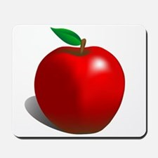 Red Apple Fruit Mousepad