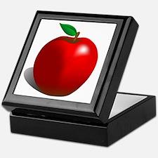 Red Apple Fruit Keepsake Box