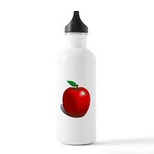 Red Apple Fruit Water Bottle