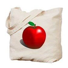 Red Apple Fruit Tote Bag