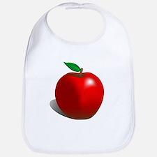 Red Apple Fruit Bib
