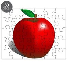 Red Apple Fruit Puzzle
