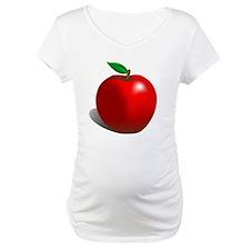 Red Apple Fruit Shirt