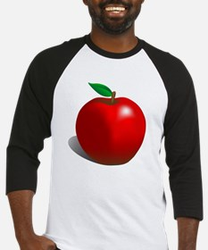 Red Apple Fruit Baseball Jersey