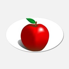Red Apple Fruit Wall Decal