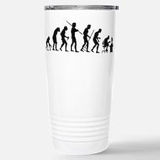 De-Evolution Stainless Steel Travel Mug