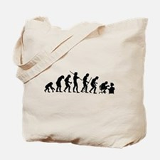 De-Evolution Tote Bag