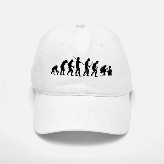 De-Evolution Baseball Baseball Cap