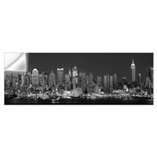 New York, New York City, Panoramic view of the Wes Wall Decal