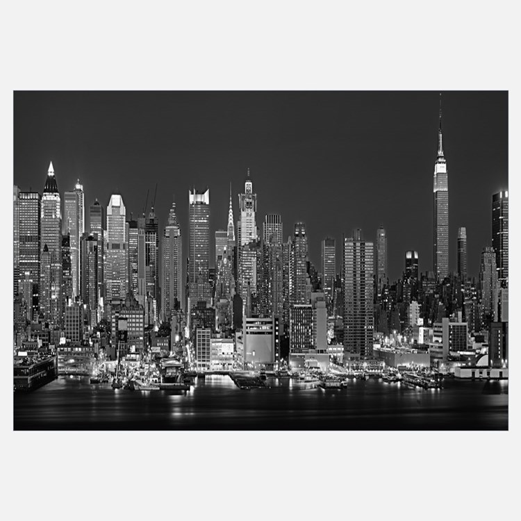 28 wall decor new york city framed canvas painting for New york city decor