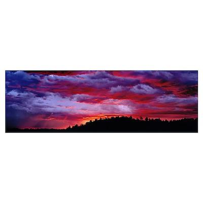 US, Wyoming, Sunrise Poster