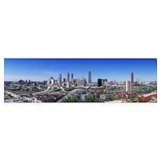 Georgia, Atlanta, skyline Poster