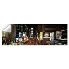 Times Square at Night New York City NY Wall Decal