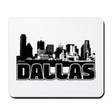 Dallas Skyline Mousepad