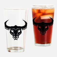 Bull Skeleton Drinking Glass