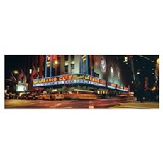 New York City, Radio City Music Hall Framed Print