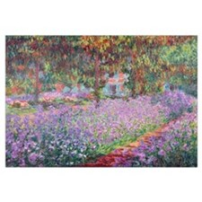 The Artists Garden at Giverny, 1900 (oil on canvas