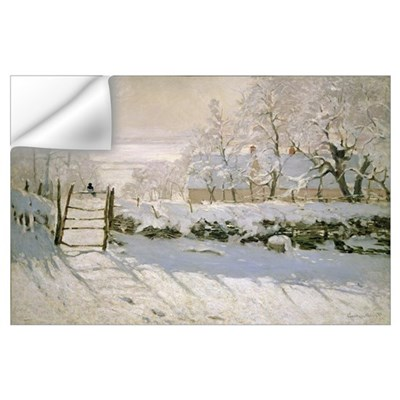 The Magpie 1869 oil on canvas Wall Decal
