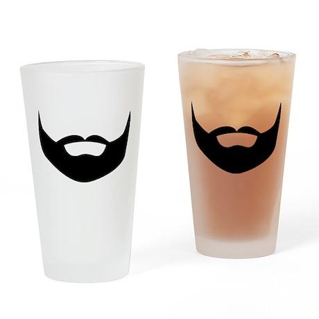 Beard Drinking Glass