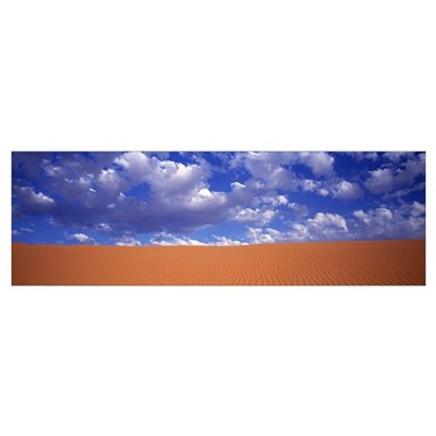 Texas, El Paso, Red Sand Hills Poster